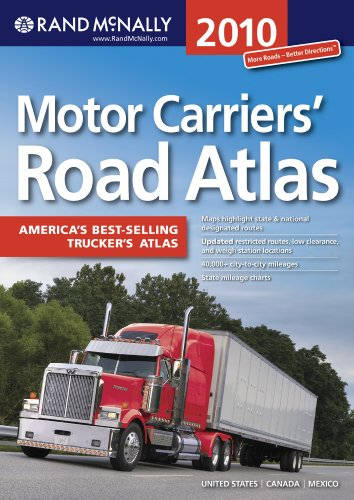 Rand McNally Motor Carrier Atlas (Rand Mcnally Motor Carriers' Road Atlas) (Rand Mcnally Motor Carrier Atlas)