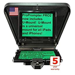 ProPrompter HDi Pro2 iPad Teleprompter Kit