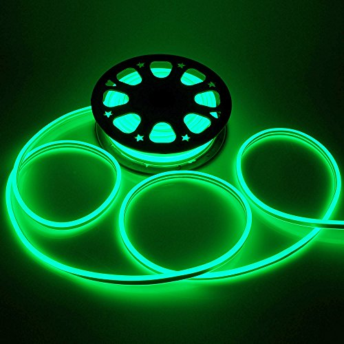 Neon Green Led Rope Lights in US - 1