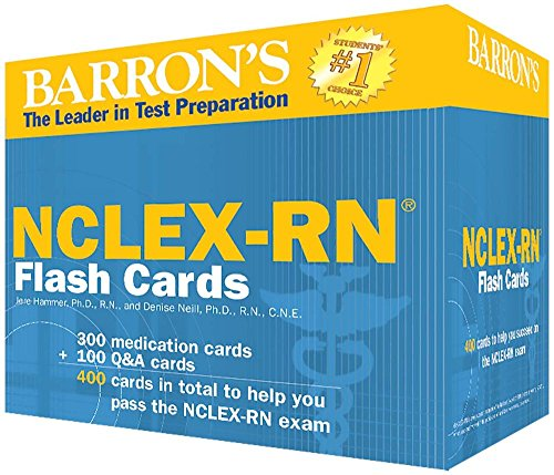 Barron's NCLEX-RN Flash Cards, 2nd Edition