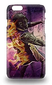 Iphone Snap On Hard Case Cover NBA Los Angeles Lakers Kobe Bryant #24 Protector For Iphone 6 3D PC Soft Case
