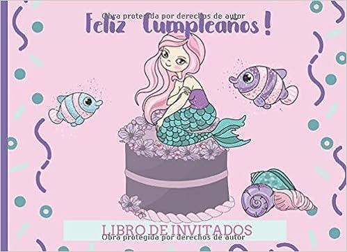 Amazon.com: Feliz Cumpleaños Libro de Invitados: Libro de ...