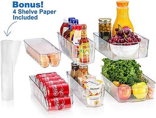 fridge bins and organizers Set o...