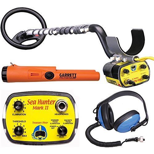 - Garrett Sea Hunter Mark II w/ Underwater Garrett Pro Pointer AT