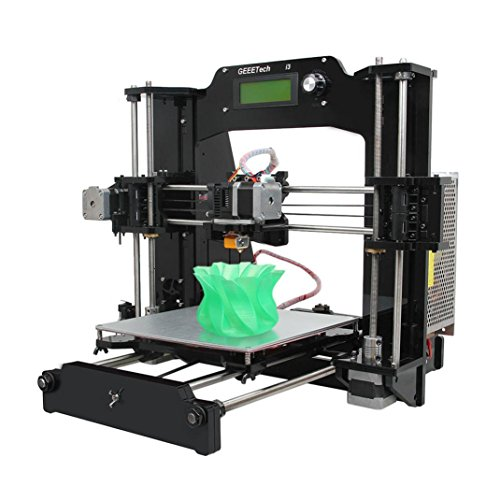 3D Printer, Gotd Full Acrylic unassembled KIT Prusa I3 Pro X print 6 material 3D Printer by Goodtrade8