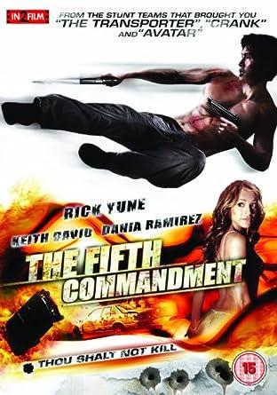 The Fifth Commandment [DVD]: Amazon.co.uk: Keith David, Rick Yune ...