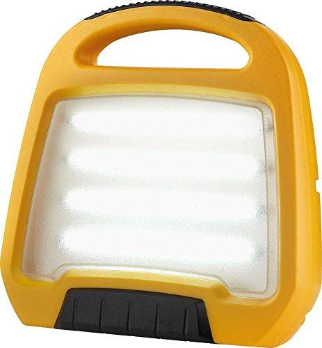 Defender E709192 LED Rechargable Floor Light, 12.5 W, 240 V, Yellow
