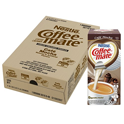 NESTLE COFFEE-MATE Coffee Creamer, Cafe Mocha, liquid creamer singles, Pack of 200 by Nestle Coffee Mate (Image #5)