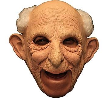 GHOULISH Máscara de Anciano Gus Deluxe sin Barbilla