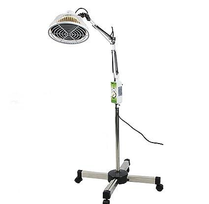 INFRARED 300W Infrarrojo Ondas Electromagnéticas Termoterapia Lámpara Alivio del Dolor Tratamiento De Belleza Programado Altura Ajustable