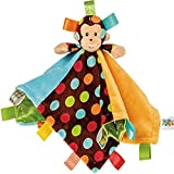 Mary Meyer Taggies Dazzle Dots Character Blanket, Monkey