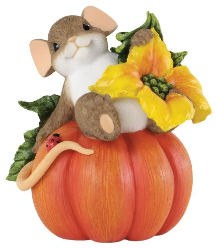 ENESCO Charming Tails Halloween Your Friendship is Ripe Figurine 3-Inch
