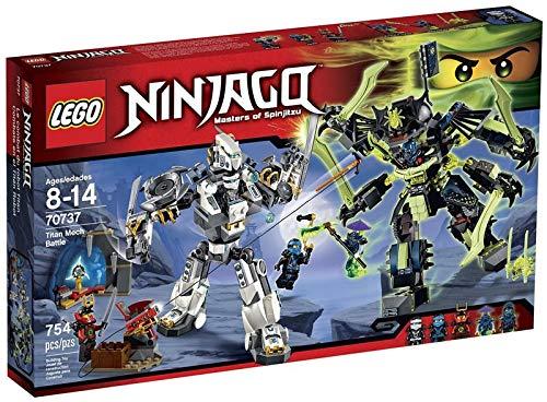 LEGO Ninjago 70737 Titan Mech Battle Building - Ninjago Samurai Lego Mech