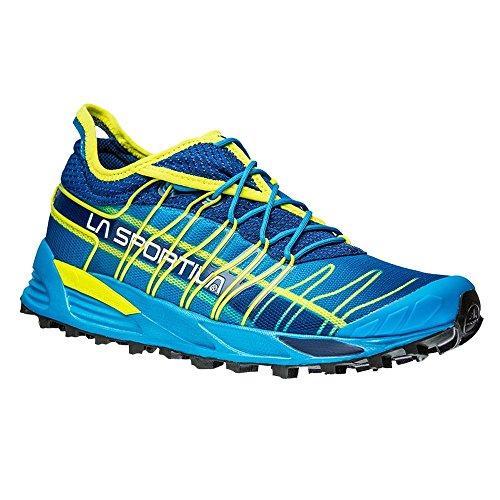 La Sportiva Mutant Off Road Running Shoes Black Blue/Sulphur EU 37 (UK 4.5) bUUTW