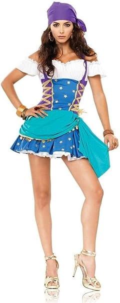 Disfraz de Princesa Esmeralda sexy: Amazon.es: Ropa y accesorios