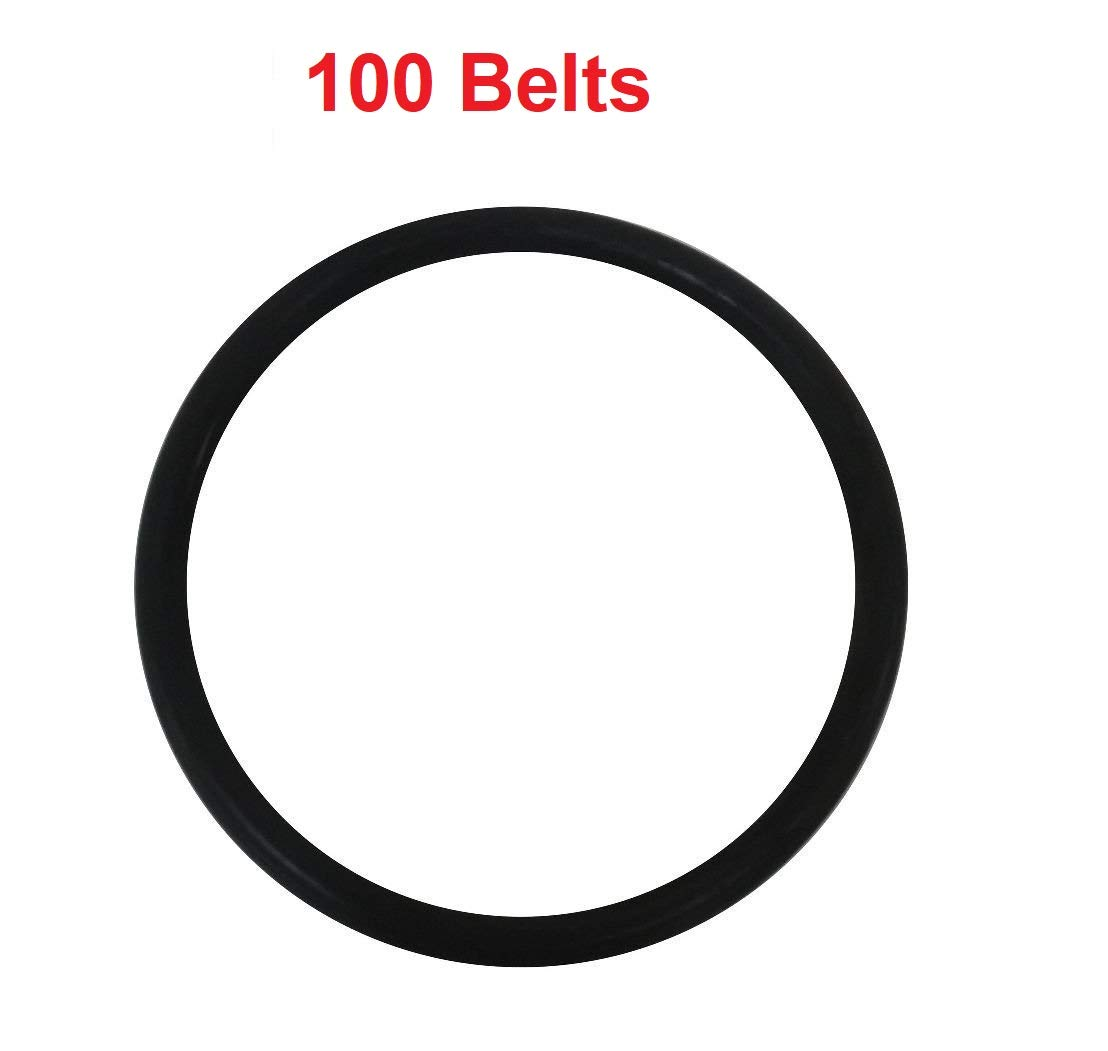 Eureka/Sanitaire Upright Round Vacuum Belts (100 pack) by EUREKA