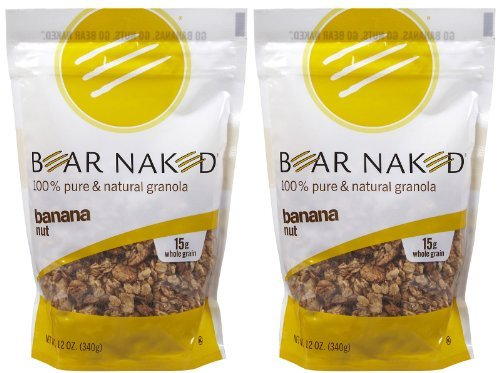 Bear Naked 100% Natural Granola - Banana Nut - 12 oz - 2 pk