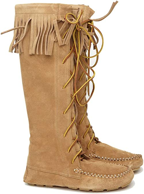 Sendra Boots Indian Suede with Fringes