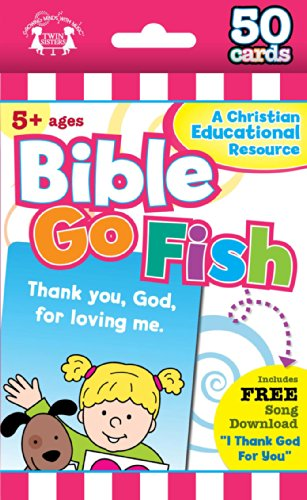 Bible Go Fish Christian 50-Count Game Cards (I'm Learning the Bible Flash Cards)]()