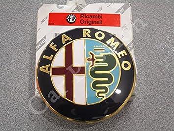 Escudo trasero original de Alfa Romeo Giulietta 159 Brera Mito Fregio, 74 mm: Amazon.es: Coche y moto