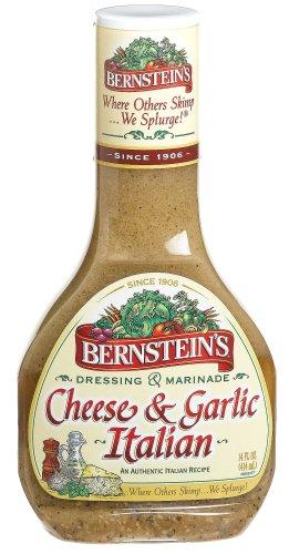 Bernsteins Cheese & Garlic Italian Dressing, 14 oz