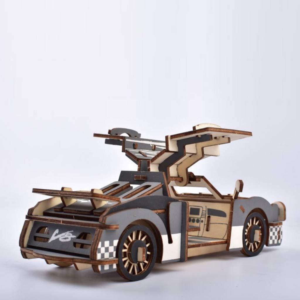 Brain Teaser Puzzles Vivianu 3D Vehicle Simulation Wood Assemble