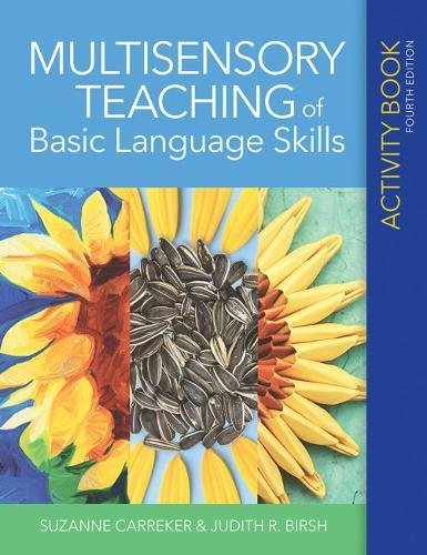 Multisensory Teaching of Basic Language Skills Activity Book by Brookes Publishing