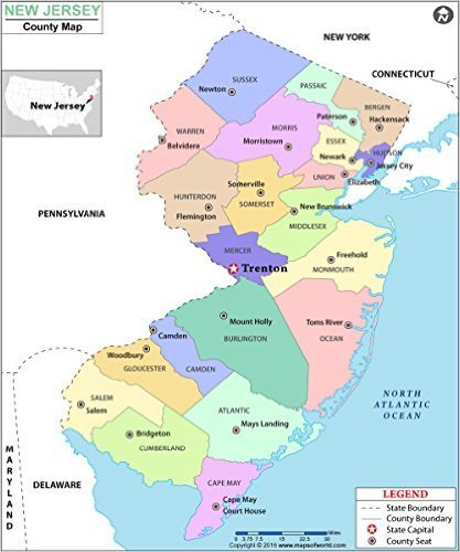 New Jersey Maps on