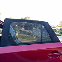 Hominize Car Window Shades - Premium Sun Shades for Car Side Window - Set of 2