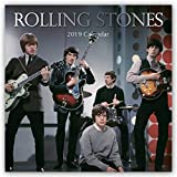 2019 Rolling Stones - 12 x 12 Wall Calendar - With 180 Calendar Stickers