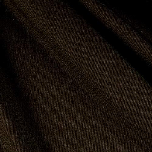 Tuva Textiles 100% Wool Gabardine Fabric, Brown, Fabric By The Yard