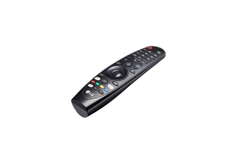 LG Magic Control AN-MR19BA Color Negro Mando a Distancia Reconocimiento de Voz, apunta y navega, Rueda de Scroll, Botones Netflix y , Teclado num/érico