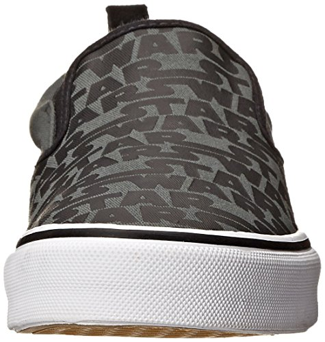 On Sneaker Charcoal Men's Star Skechers Slip Black Wars wIX4Y8