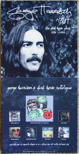 George Harrison - The Dark Horse Years 1976 - 1992 - Two Sided Poster - New - Rare - The Beatles - Thirty Three And 1/3 - One Third - Somewhere In England - Gone Troppo - Cloud Nine - 9 - Live In Japan - Box Set - John Lennon - Paul McCartney - Ringo Starr
