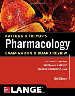 Basic and clinical pharmacology 14th edition 9781259641152 katzung trevors pharmacology examination and board review11th edition katzung trevors pharmacology fandeluxe Gallery
