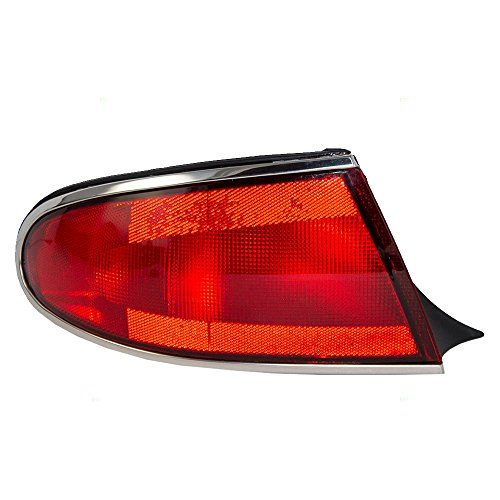 Drivers Taillight Quarter Panel Mounted Tail Lamp Replacement for Buick 19149889 AutoAndArt