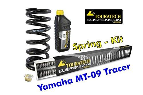 TOURATECH(ツラーテック): Hyperpro 交換用スプリング フロントフォーク&リアショック用 YAMAHA MT-09 TRACER   B011HM0IHO