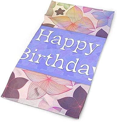 Diademas Sombreros Pañuelo Feliz cumpleaños Bufanda ...