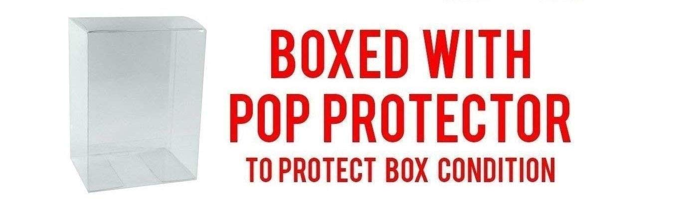 POP Bundled Box Protector CASE Max Power Master Roshi Specialty Series Funko Dragonball Super