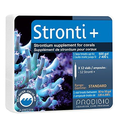 (Prodibio Strontium, Reef Supplement, Saltwater, 12/1ml vials, 30 gal and up)