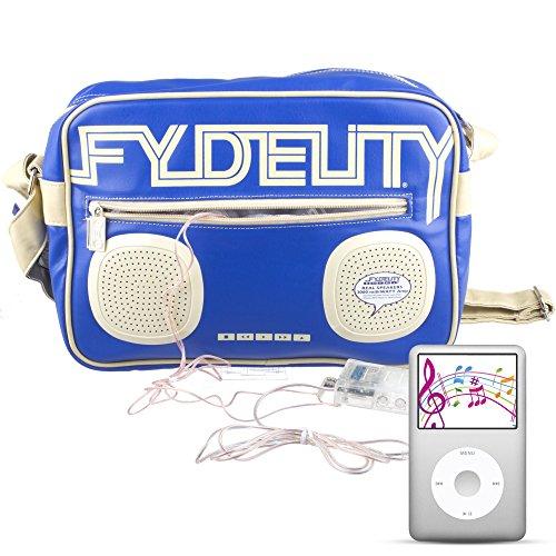 Fydelity Umhängetasche 92487 Grün Blau r9CwXI3C6E