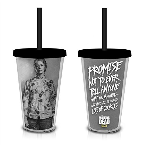 Walking Dead Carnival Cup   Carol Peletier with Quote
