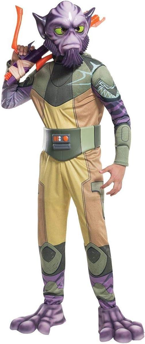 B00SXAPOAK Rubie's - Star Wars Deluxe Zeb Kids Costume 512Bb4TgqiUL