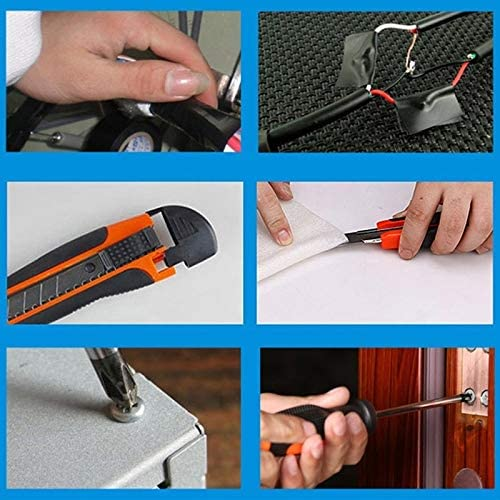 YSSWJ Socket Wrench Auto Repair Tool Combination Package Mixed Tool Set Hand Tool Kit with Plastic Toolbox Storage Case