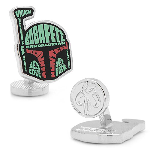 Star Wars SW BFH TP Typography Cufflinks product image