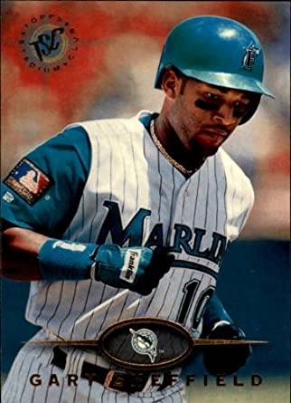 amazon com 1995 stadium club baseball card 90 gary sheffield near
