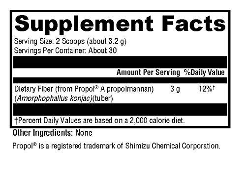 Amazon.com: Colon Proteger – propolmannan Prebiotic Fiber ...