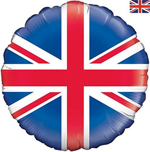 "Oaktree Union Jack Flag 18"" Foil Party Balloon"