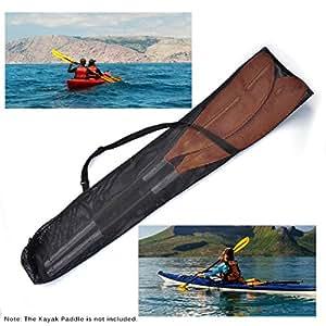 Amazon.com: Lixada Cordón Malla Kayak Paddle bolsa de Split ...