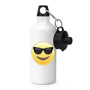 Gift Base Gafas de Sol Emoji Botella Deportes: Amazon.es ...
